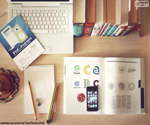 Puzle Área de estudo