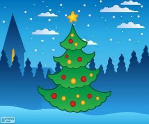 Puzle Árvore de Natal