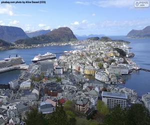 Puzle Ålesund, Noruega