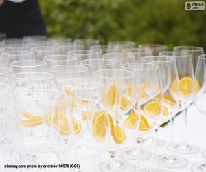 Puzle Óculos de vidro para um banquete