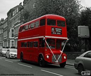 Puzle Ônibus de Londres