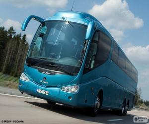 Puzle Ônibus de luxo