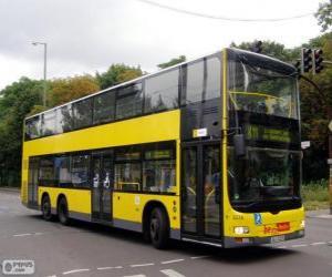 Puzle Ônibus MAN Lion's City