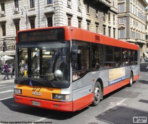 Puzle Ônibus urbano de Roma