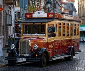 Puzle Ônibus vinatge