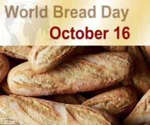 Puzle 16 De outubro, dia mundial do pão