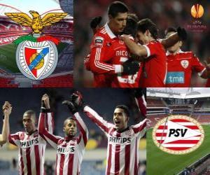 Puzle 2010-11 UEFA Europa League Quartos-de-final, Benfica - PSV