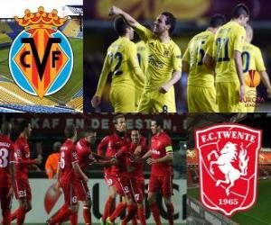 Puzle 2010-11 UEFA Europa League Quartos-de-final, o Villarreal - Twente