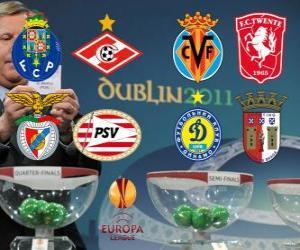 Puzle 2010-11 UEFA Europa League Quartos-de-final