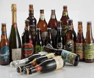 Puzle 22 cervejas brasileiras