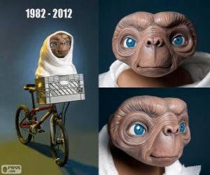 Puzle 30. º Aniversário da E.T o extra-terrestre (1982)