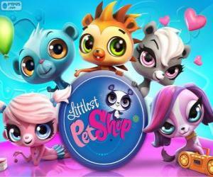 Puzle 5 animais de estimação de Littlest PetShop