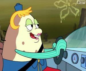 Puzle Senhora Puff é a proprietária e professora de uma escola náutica