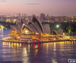 Puzle A Ópera de Sydney