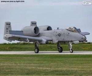 Puzle A-10A Thunderbolt II