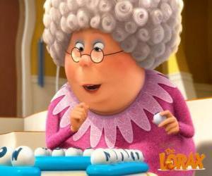Puzle A avó Norma é cheia de vida e energia