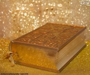 Puzle A Bíblia da religião cristã