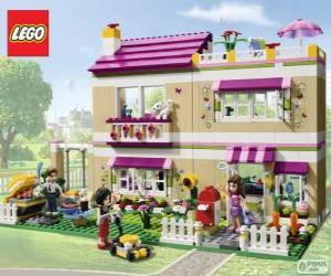 Puzle A casa de Olivia, Lego Friends