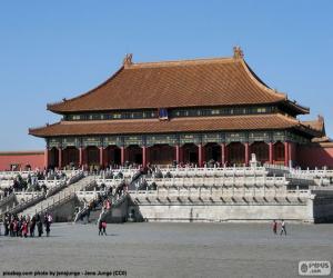 Puzle A Cidade Proibida, China