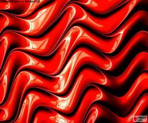 Puzle A cor vermelha