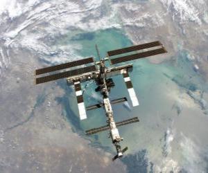 Puzle A Estação Espacial Internacional (ISS)