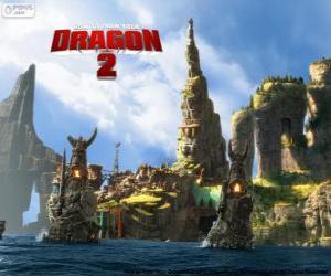 Puzle A ilha de Berk, Como treinar o seu dragão 2