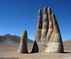 Puzle A Mão do deserto, Chile
