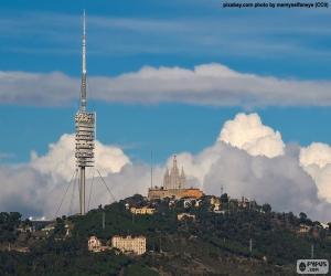 Puzle A montanha de Tibidabo, Barcelona