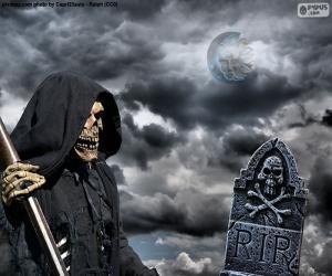 Puzle A morte, o dia das bruxas