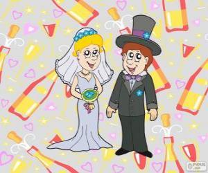 Puzle A noiva e o noivo