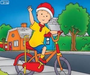 Puzle A nova bicicleta de Callou