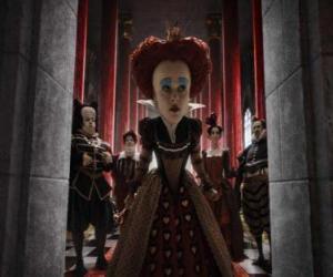 Puzle A Rainha Vermelha (Helena Bonham Carter) é o governante tirânico do Underworld.