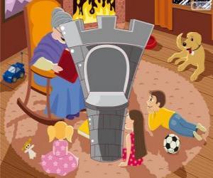 Puzle A torre do castelo