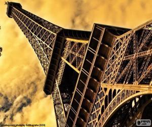 Puzle A Torre Eiffel, Paris