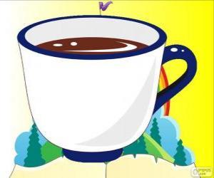 Puzle A xícara de chá de Alice