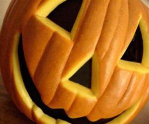 Puzle Abóbora de Halloween