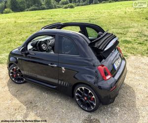 Puzle Abarth 500 cabrio