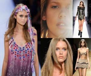 Puzle Abbey Lee é um modelo brasileiro