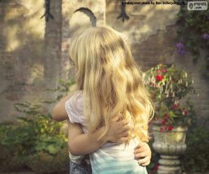 Puzle Abraço de amigos