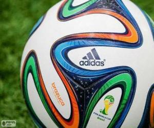 Puzle Adidas Brazuca, a bola oficial da Copa do Mundo Brasil 2014