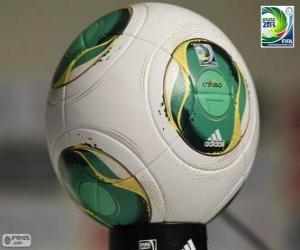 Puzle Adidas Cafusa, bola oficial da Copa das Confederações FIFA de 2013