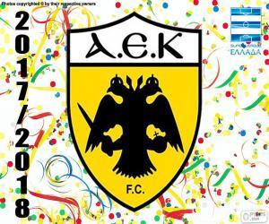 Puzle AEK Atenas, Super Lig 2017-18