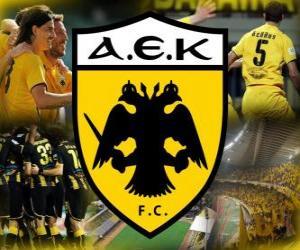 Puzle AEK Athens FC, clube de futebol grego