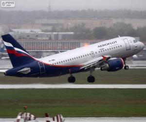 Puzle Aeroflot, Russian Airlines