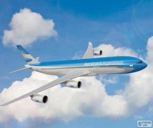 Puzle Aerolíneas Argentinas é um avião de Argentina
