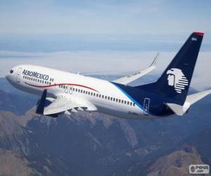 Puzle Aeroméxico é uma empresa aérea do México