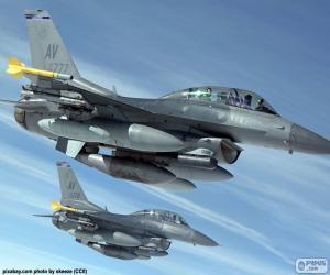 Puzle Aeronaves militares
