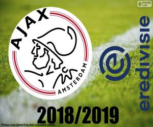 Puzle AFC Ajax, campeão 2018-2019