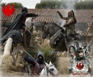 Puzle Águila Roja, la película