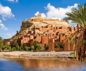Puzle AIT Ben Haddou, Marrocos